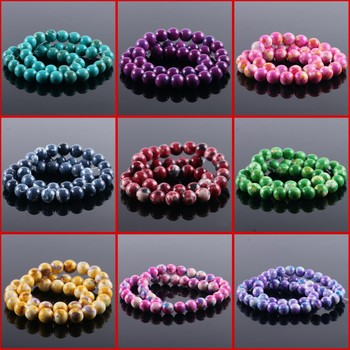 AAA+ ! 10pcs/lot 10mm Natural Stone Beads Bracelet Necklace Jewelry For Women Clothes Dress DIY Jewelry Making Natural Stone