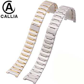 New Stainless Steel Watchband Men And Women metal watch bracelets Watch Bracelet For CONSTELLATION Watch Strap