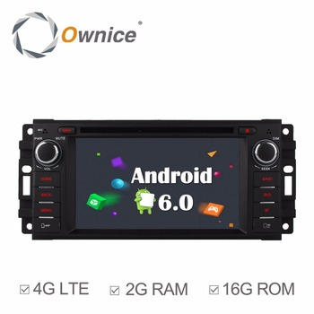 Ownice C500 Android 6.0 Octa Çekirdek Jeep için car dvd player grand wrangler patriot pusula journey gps navi radyo 4G LTE SIM